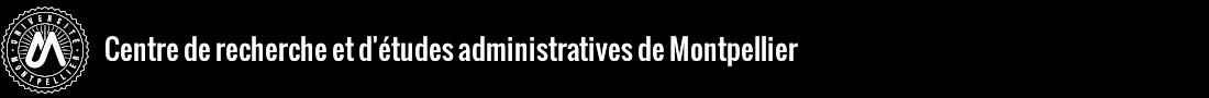 Centre de Recherches et d'Études Administratives de Montpellier (CREAM) Logo